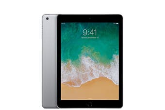 iPad 5th Gen 128GB Wifi A1822 - Space Grey - Unlocked & Refurbished - Grade C