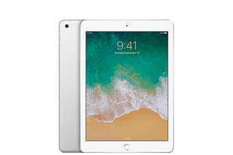 iPad 5th Gen 128GB Wifi + Cellular - White - Unlocked & Refurbished - Grade C