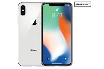 Apple iPhone X 256GB Silver - Refurbished & Unlocked (AU Stock)