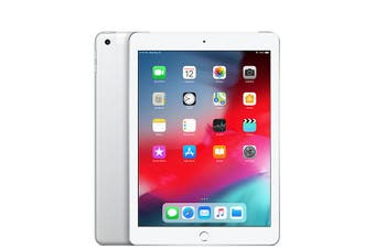 iPad 6th Gen 128GB Wifi + Cellular - White - Unlocked & Refurbished