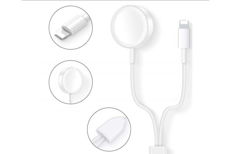 2W USB Adapter Charging Cable 2 in 1 Wireless Charger for