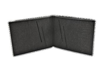 Vegan Wallet - Stone Black