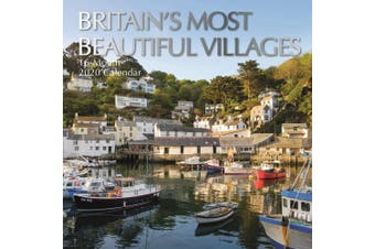 Britain's Most Beautiful Villages - 2020 Wall Calendar 16 month Square 30x30cm S