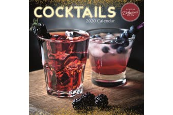 Cocktails - 2020 Wall Calendar 16 month Premium Square 30x30cm (AA)