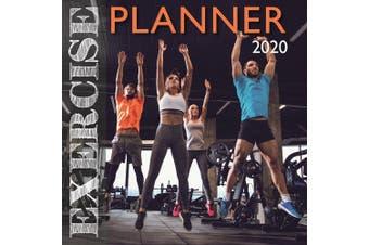 Exercise Planner - 2020 Wall Calendar 16 month Premium Square 30x30cm (CC)