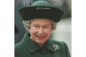 Her Majesty - 2020 Wall Calendar 16 month Premium Square 30x30cm (X)