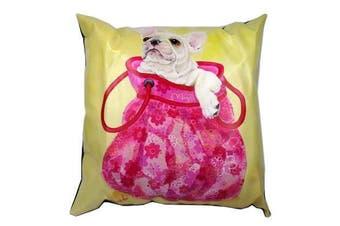 Cushion Cover w/ Filling Sofa Décor - Dog Puppy Bulldog