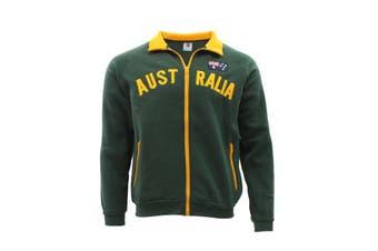 Adult Zip-up Jacket Jumper for Australia Day Souvenir  - Green