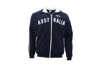Adult Zip-up Jacket Jumper for Australia Day Souvenir  - Navy
