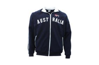 Adult Zip-up Jacket Jumper for Australia Day Souvenir  - Navy