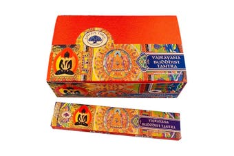 Vajrayana Buddhist -  2x 15g Incense Sticks by Green Tree Fragrance Insence
