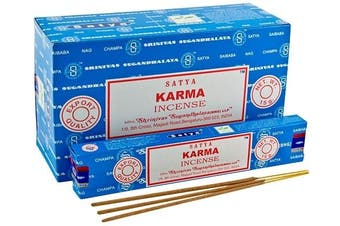 Karma -  2x 15g Incense Sticks by Satya Nag Champa