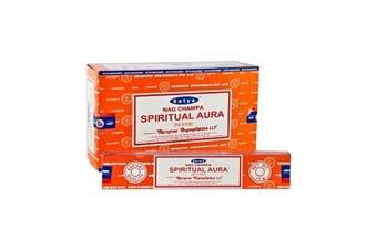 Spiritual Aura -  2x 15g Incense Sticks by Satya Nag Champa