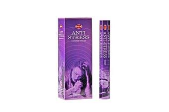20-240 Incense Sticks HEM Nag Champa 110 Scents Hex Meditation Aroma Fragrance [Scent: Anti Stress-20 Sticks-HEM]