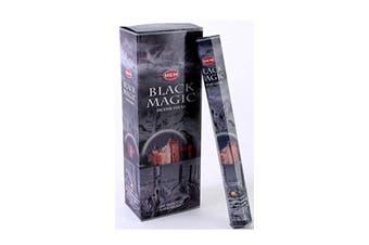 20-240 Incense Sticks HEM Nag Champa 110 Scents Hex Meditation Aroma Fragrance [Scent: Black Magic-20 Sticks-HEM]