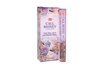 20-240 Incense Sticks HEM Nag Champa 110 Scents Hex Meditation Aroma Fragrance [Scent: Call Money-20 Sticks-HEM]