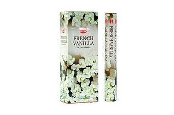 20-240 Incense Sticks HEM Nag Champa 110 Scents Hex Meditation Aroma Fragrance [Scent: French Vanilla-20 Sticks-HEM]