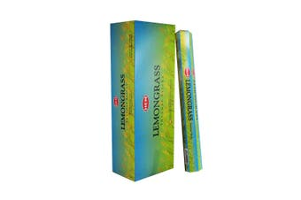 20-240 Incense Sticks HEM Nag Champa 110 Scents Hex Meditation Aroma Fragrance [Scent: Lemongrass-20 Sticks-HEM]