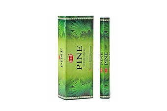 20-240 Incense Sticks HEM Nag Champa 110 Scents Hex Meditation Aroma Fragrance [Scent: Pine-20 Sticks-HEM]