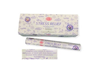 20-240 Sticks Incense HEM Nag Champa 130+ Scents Hex Meditation Aroma Fragrance [Scent: Stress Relief-20 Sticks-HEM]