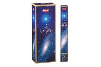 20-240 Incense Sticks HEM Nag Champa 110 Scents Hex Meditation Aroma Fragrance [Scent: The Galaxy-20 Sticks-HEM]