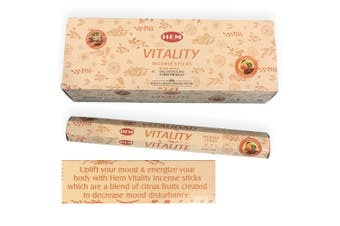 [HEM Vitality] 2x 20 Incense Sticks HEM Hex Meditation Aroma Fragrance