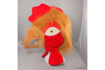 Adult Unisex  Novelty Hat Party Wear-Clown Animals Top hat Egyptian USA and more [Name: Turkey/ Rooster]