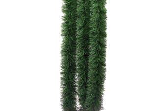 5x Thick Christmas Natural Pine Green Tinsel Xmas Garland Decor Ornaments 2.5m