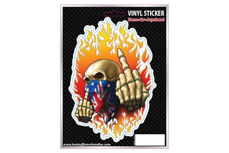 Car Decal Accessories Vinyl Sticker -Aussie Finger