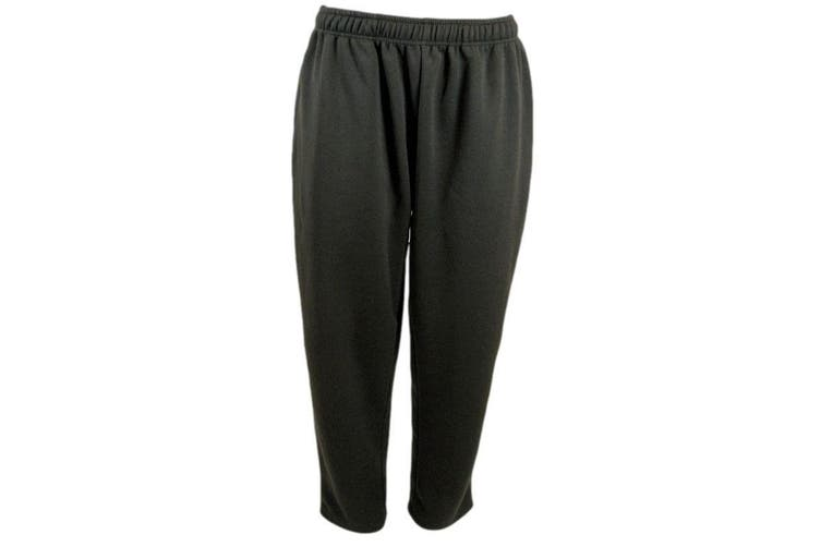 Mens Casual Track Pants Tracksuit Stripes Cool Breathable Mesh - Charcoal [Size:S]