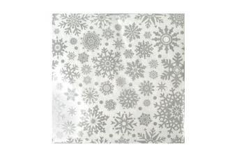 20x Elegant Christmas Paper Napkins Serviettes Large Thick Premium 3ply[Design: D]