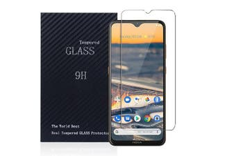 [1 PACK] Nokia 5.3 Full Coverage Tempered Glass Screen Protector Guard (Clear)