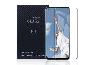 [1 PACK] Oppo A52 Screen Protector Full Coverage Tempered Glass Screen Protector Guard (Clear) - Case Friendly