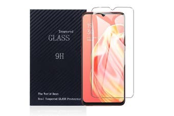 [1 PACK] Oppo A91 Screen Protector Full Coverage Tempered Glass Screen Protector Guard (Clear) - Case Friendly
