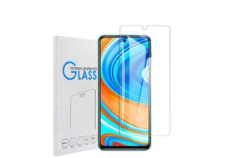 [1 Pack] Xiaomi Redmi Note 9S /9 Pro Screen Protector Full Coverage Tempered Glass Screen Protector Guard (Clear) - Case Friendly