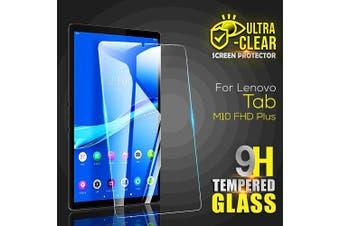 [1 Pack] For Lenovo Tab M10 FHD Plus 10.3 2nd Gen TB-X606F /X606  Tempered Glass Anti Scratch Screen Protector Guard  - Case Friendly