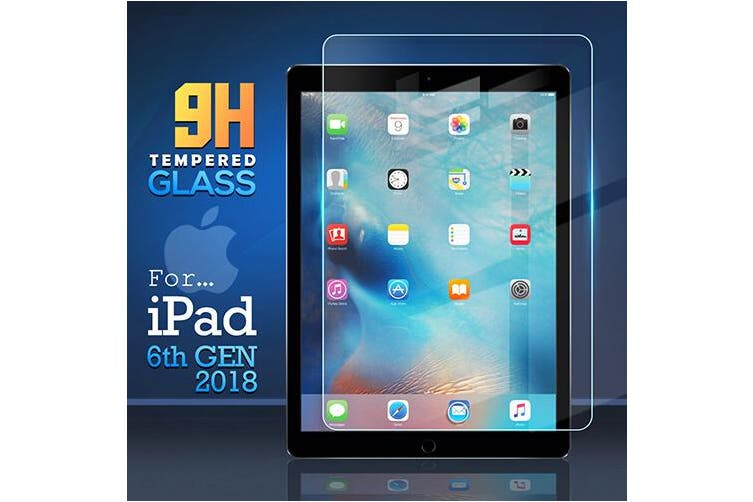 For Apple iPad 6th Gen Generation 9.7 2018 Tempered Glass Screen Protector