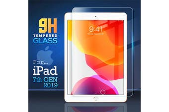 For Apple iPad 7 7th Gen Generation 10.2 2019 Tempered Glass Screen Protector - Case Friendly