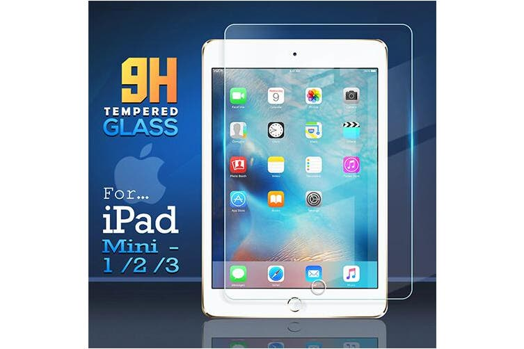 For Apple iPad Mini 1 / 2 / 3 1st 2nd 3rd Gen Generation Screen Protector Tempered Glass Screen Protector - Case Friendly