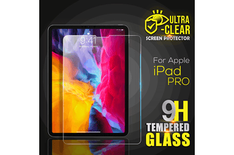 For Apple iPad Pro 11 inch 2020 2nd Gen Generation Screen Protector Tempered Glass Screen Protector - Case Friendly