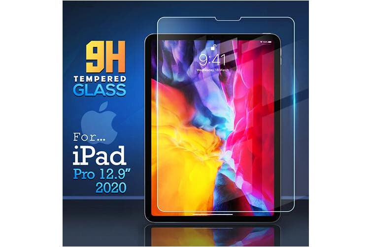 For Apple iPad Pro 12.9 2020 4th Gen Generation Screen Protector Tempered Glass Screen Protector - Case Friendly
