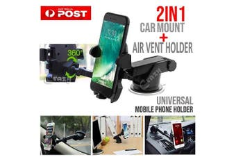 Car Phone Holder Mount Stand Universal Windshield Air Vent GPS iPhone Samsung AU