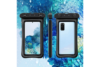 Universal Waterproof Pouch Phone Dry Bag Underwater Case Cover Apple iPhone /Samsung Galaxy /Huawei /Oppo /Nokia /LG /Motorola /Xiaomi /Sony /HTC /Google Pixel for Up to 6.5″ Phone