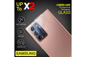 [2 PACK] Samsung Galaxy Note 20 Ultra / Note 20 Ultra 5G Camera Lens Tempered Glass Screen Protector Guard - Case Friendly