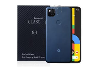 [2 PACK] Google Pixel 4A Camera Lens Tempered Glass Screen Protector Guard - Case Friendly