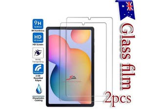 [2 Pack] For Samsung Galaxy Tab S6 Lite SM-P610 /P615 Tempered Glass Anti Scratch Screen Protector Guard  - Case Friendly