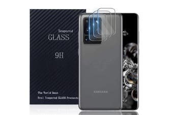 [3 PACK] Samsung Galaxy S20 Ultra Camera Lens Tempered Glass Screen Protector Guard - Case Friendly