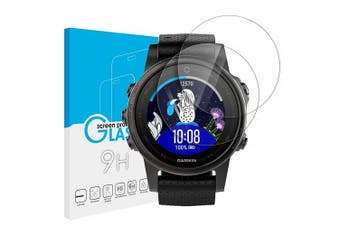 [3 PACK] Garmin Fenix 5S Tempered Glass Screen Protector Guard