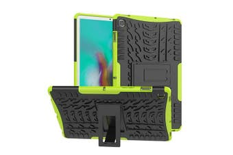 For Samsung Galaxy Tab S5e Case, SM- P720 / P725 Kickstand Shockproof Heavy Duty Tough Protective Rugged Cover (Green)