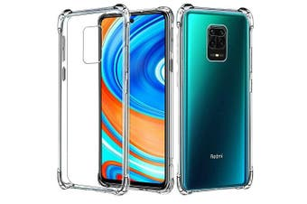 For Xiaomi Redmi Note 9 Pro Case Shockproof Tough Air Cushion Gel Clear Transparent Heavy Duty Case Cover